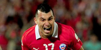 Colombia - Cile Gary Medel