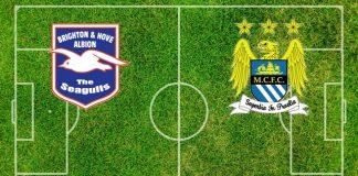 Formazioni Brighton-Manchester City