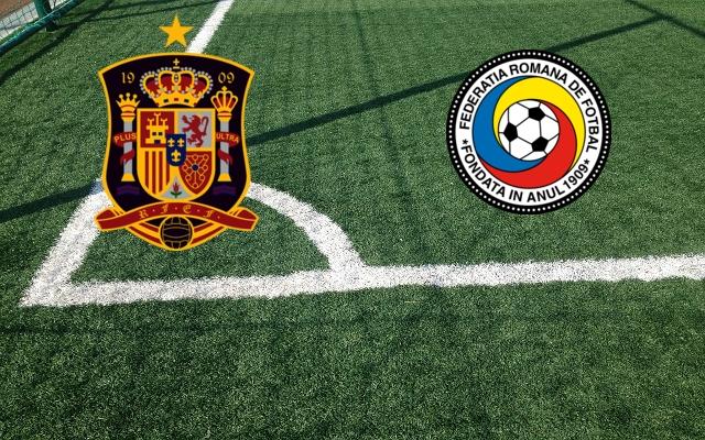 Formazioni Spagna-Romania