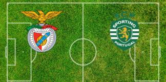 Formazioni Benfica-Sporting Lisbona