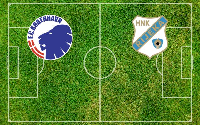 Formazioni FC Copenaghen-Rijeka
