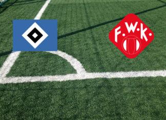 Formazioni Amburgo-Wurzburger Kickers