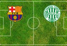 Formazioni Barcellona-Ferencvaros