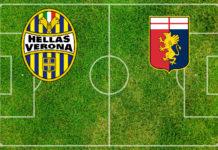 Formazioni Verona-Genoa