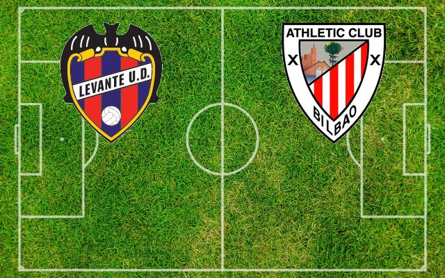 Formazioni Levante-Athletic Bilbao