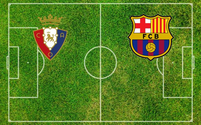 Formazioni Osasuna-Barcellona