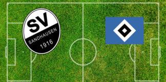 Formazioni SV Sandhausen-Amburgo