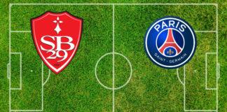 Formazioni Stade Brestois-Paris St. Germain