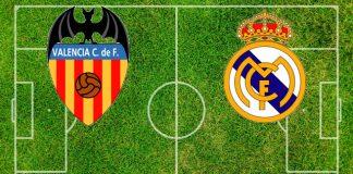 Formazioni Valencia-Real Madrid